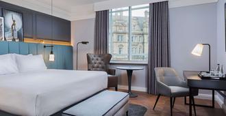 皇后Q酒店 - 利兹 - 睡房