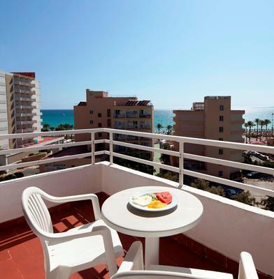 HM巴兰古艾拉海滩酒店-仅限成人 - 马略卡岛帕尔马 - 阳台