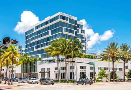 迈阿密南海滩凯悦中心酒店 - 迈阿密海滩 - 建筑