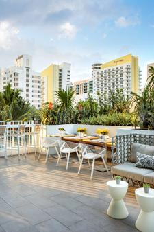 迈阿密南海滩凯悦中心酒店 - 迈阿密海滩 - 酒吧