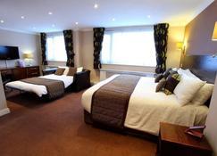 海豚SA1酒店 - 斯旺西 - 睡房