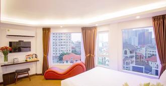 廷酒店 - 河内 - 睡房