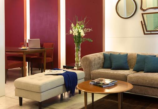 布科之家住宅酒店 - 布宜诺斯艾利斯 - 客厅