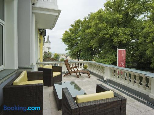 库帕克酒店 - 罗斯托克 - 阳台