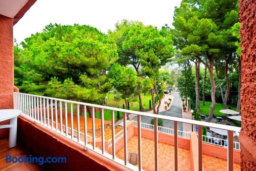 因图尔博内尔酒店 - 贝尼卡西姆 - 阳台