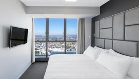 美利通酒店式公寓赫歇尔街 - 布里斯班 - 睡房