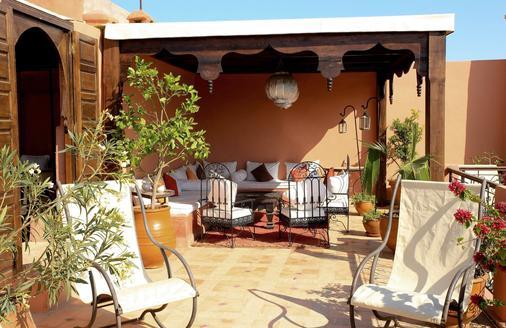 里亚德迪恩曼那摩洛哥传统庭院住宅 - 马拉喀什 - 露台