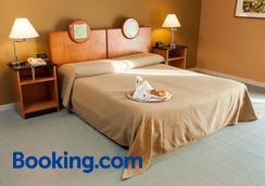 艾尔伯格阿西娜酒店 - 巴勒莫 - 睡房