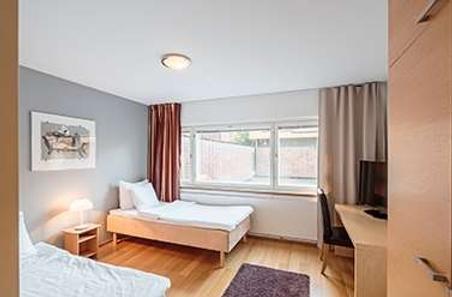 兰塔普斯托酒店 - 赫尔辛基 - 睡房