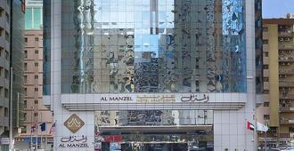 阿尔曼泽尔公寓酒店 - 阿布扎比 - 建筑