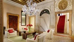 大运河焦瓦内利宫酒店 - 威尼斯 - 休息厅