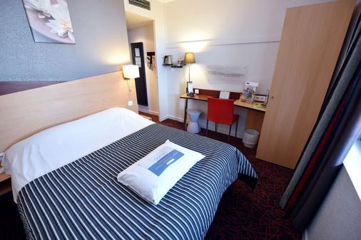 基里亚德迪容车站酒店 - 第戎 - 睡房