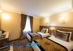老城安提酒店 - 特殊类别 - 伊斯坦布尔 - 睡房