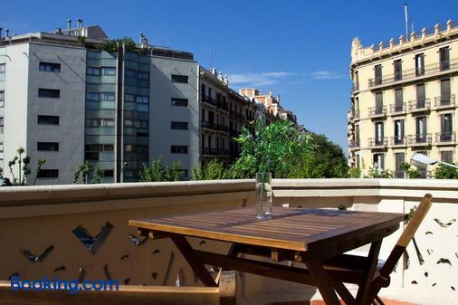 巴塞罗那迪普塔西奥酒店 - 巴塞罗那 - 阳台