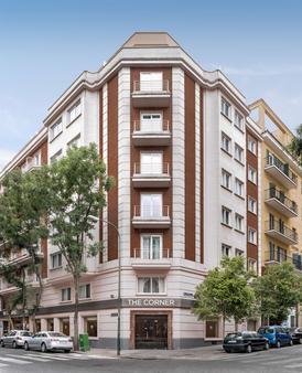 Nh马德里组尔巴诺酒店 - 马德里 - 建筑