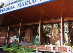 斯皮亚贾马可尼酒店 - 里米尼 - 户外景观