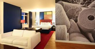 海登酒店 - 纽约 - 睡房