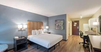 美洲长期住宿酒店 - 夏洛特 - 派恩维尔 - 公园路 - 夏洛特 - 睡房