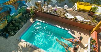 里约旅馆旅馆青年旅舍 - 帕拉蒂 - 游泳池