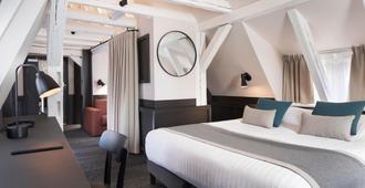龙酒店 - 斯特拉斯堡 - 睡房