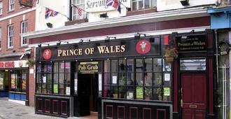 威尔士亲王酒店 - 法尔茅斯 - 建筑