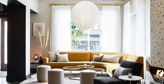 劳雷尔乐居精品酒店 - 旧金山 - 客厅