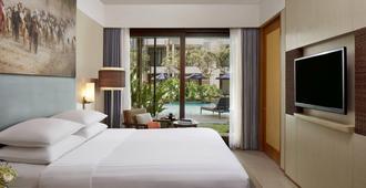 万豪巴厘岛水明漾万怡酒店 - 库塔 - 睡房