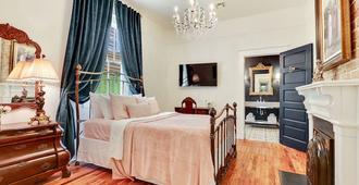 2 居法国奢华酒店 - 附庭院 - 新奥尔良 - 睡房