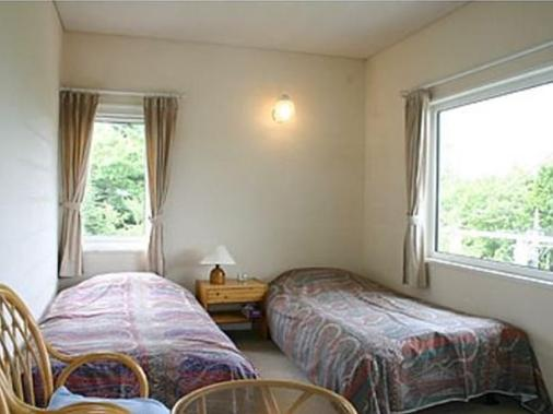 山湖旅馆及小屋 - 山中湖村 - 睡房