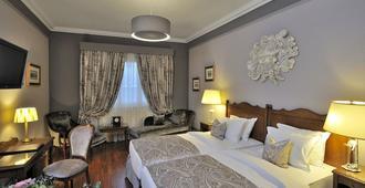 日内瓦白鹤酒店 - 日内瓦 - 睡房