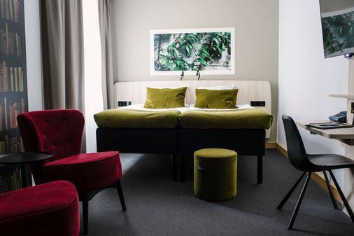 斯瓦瓦贝斯特韦斯特酒店 - 乌普萨拉 - 客厅