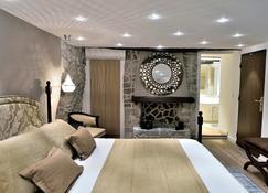 艾泽城堡酒店 - 埃泽 - 睡房