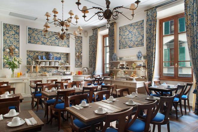 卡尔扎奥利酒店 - 佛罗伦萨 - 餐馆