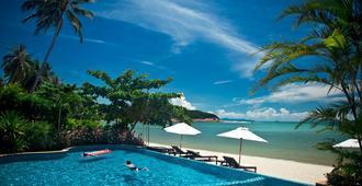 海瓦里酒店与温泉中心 - 苏梅岛 - 游泳池