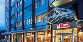 三角洲公园贝斯特韦斯特Plus酒店 - 曼海姆 - 建筑