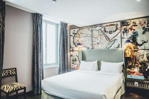 巴黎大陆酒店 - 巴黎 - 睡房