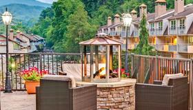 贝蒙特旅馆加套房酒店- 河边的加特林堡 - 加特林堡 - 阳台