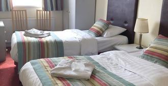水一方酒店 - 托基 - 睡房