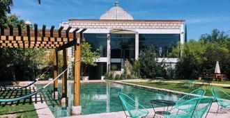 圣帕特里西奥洛杉矶庄园酒店 - 圣米格尔-德阿连德 - 游泳池