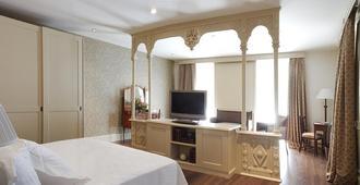 珍珠大酒店 - 潘普洛纳 - 睡房