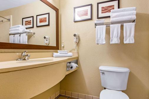 威尔明顿凯富套房酒店 - 威明顿 - 浴室