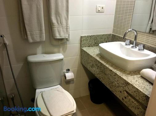 鲁格斯酒店 - 圣保罗 - 浴室