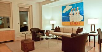 伦巴第大酒店 - 纽约 - 客厅