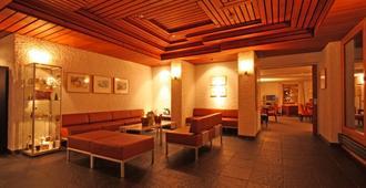 圣莫里兹豪瑟酒店 - 圣莫里茨 - 休息厅