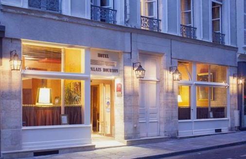 巴黎布尔蓬宫殿酒店 - 巴黎 - 建筑