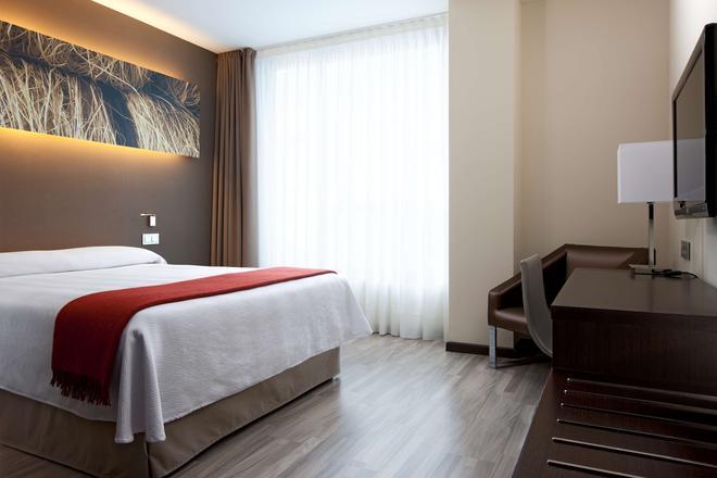 巴塞罗那对角线中心nh酒店 - 巴塞罗那 - 睡房