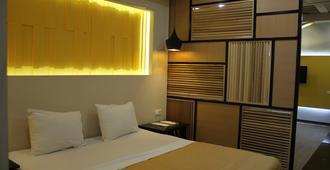 GS 酒店 - 埃里温 - 睡房