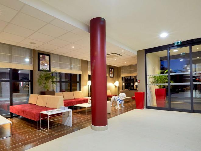 康铂酒店-波尔多西梅里尼亚克机场 - 梅里尼亚克 - 大厅