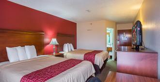 纳什维尔红屋顶酒店 - 音乐城 - 纳什维尔 - 睡房
