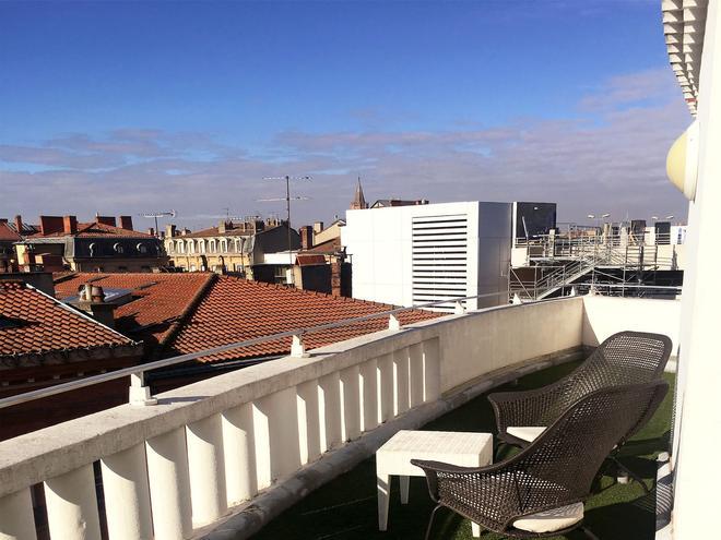 奥尔斯布兰科酒店 - 图卢兹 - 阳台
